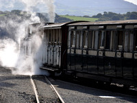 Earl of Merioneth takes a train up the Ffestiniog 2012
