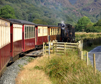 Heading up to Croesor Junction 2012