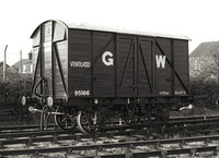 95166 GWR Starbeck 1986