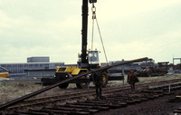 Help from on site crane 1982