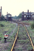 Access to the main line at Starbeck signal box 1982